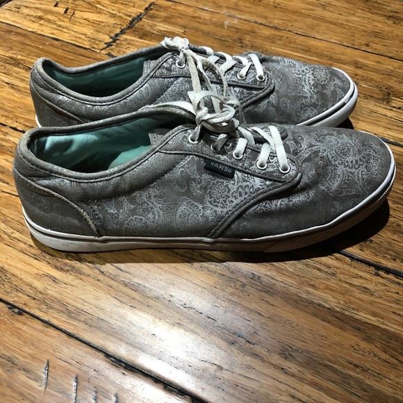Vans Shoes   Vans Atwood Paisley Print Shoes   Poshmark